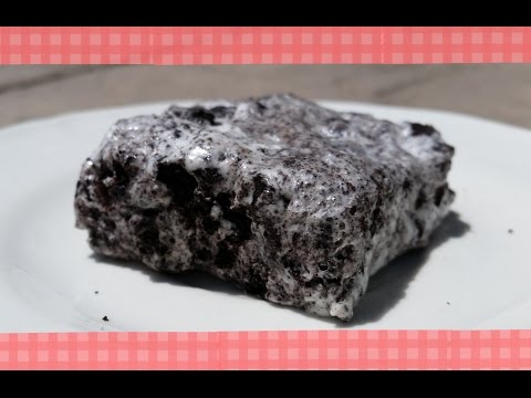 How To Make Cookies and Cream Marshmallow Treats