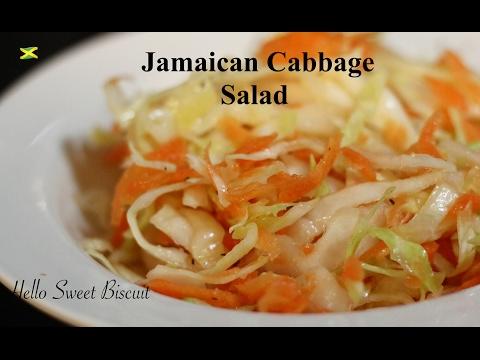 Jamaican Cabbage Salad | Hello Sweet Biscuit
