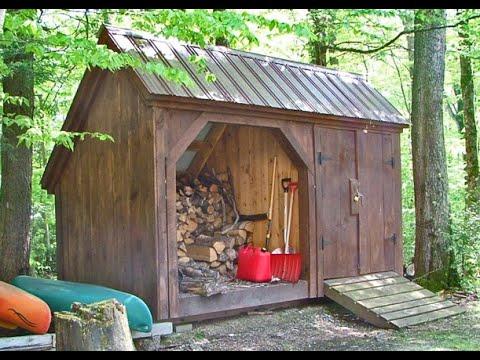 Firewood Storage Shed 6x14 Weekender