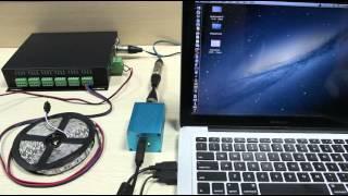 Resolume Artnet Alphapix 16 Ws2811 SPI pixel led - PakVim