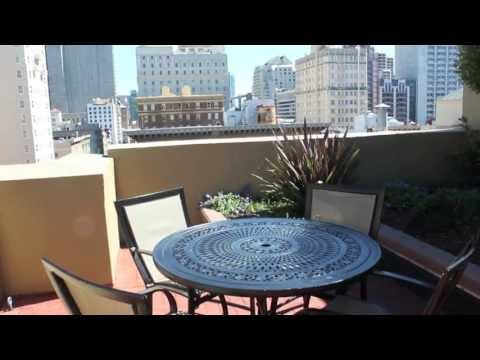 Geary Courtyard Apartments - Downtown San Francisco - Community Video