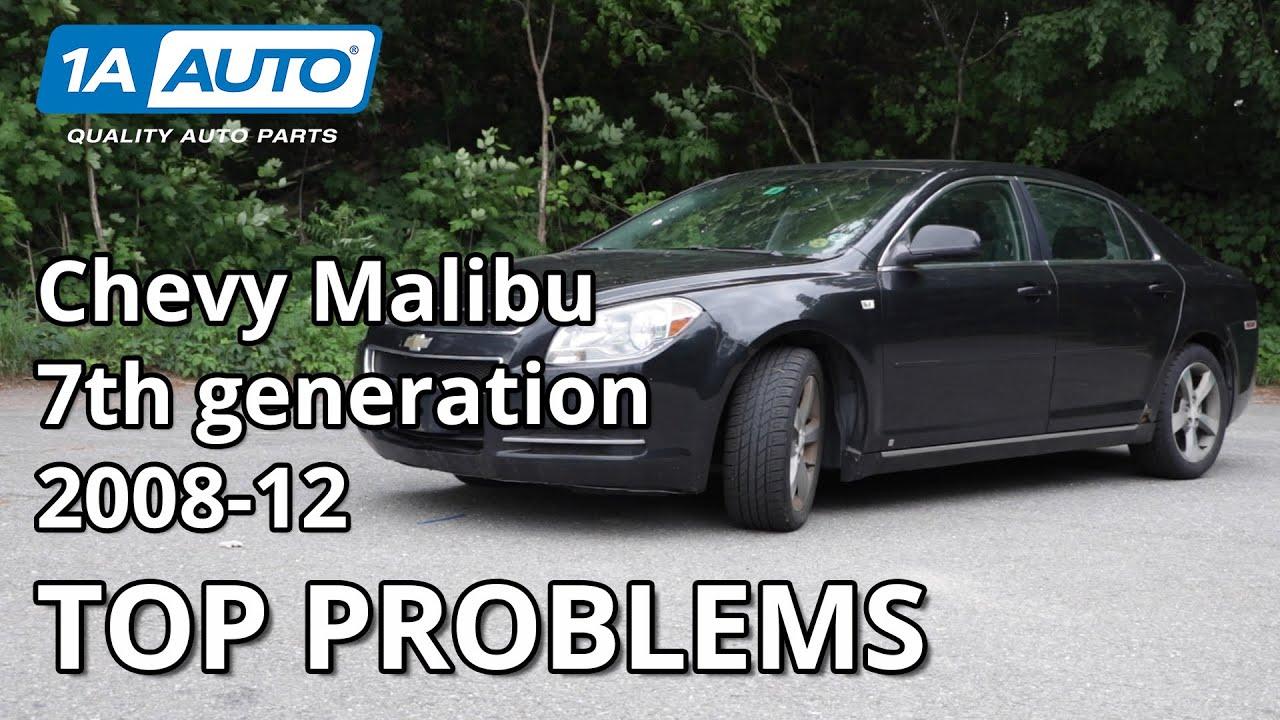 Top 5 Problems Chevy Malibu Sedan 7th Generation 2008-2012