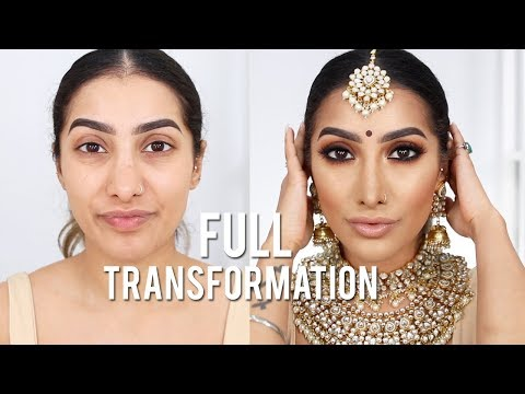 ALL DRUGSTORE Affordable Indian Wedding Makeup – Brown Smokey Eye