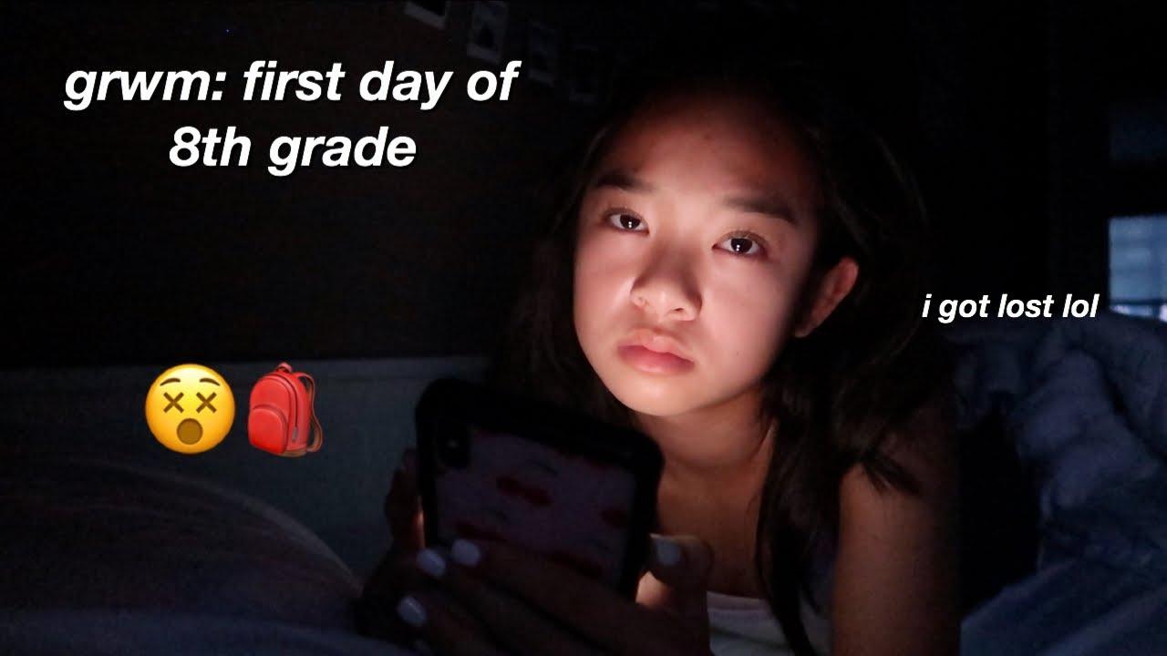 GRWM: first day of 8th grade | Nicole Laeno