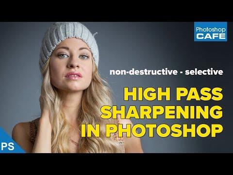SHARPEN Photos in Photoshop using secret High Pass Mask