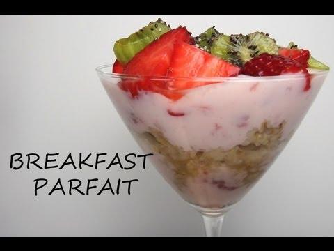 HEALTHY SNACK IDEAS: FRUIT PARFAIT RECIPE