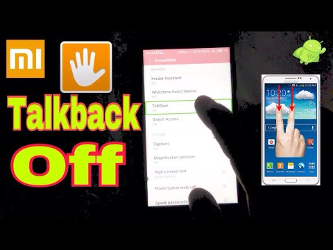 How to turn off talkback on your Mi mobile