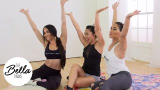 CASSEY HO and THE BELLA TWINS team up for an AB CRUSHING workout!