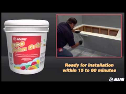 How To Lay Tile Over Tile with Mapei Eco Prim Grip Tile Primer