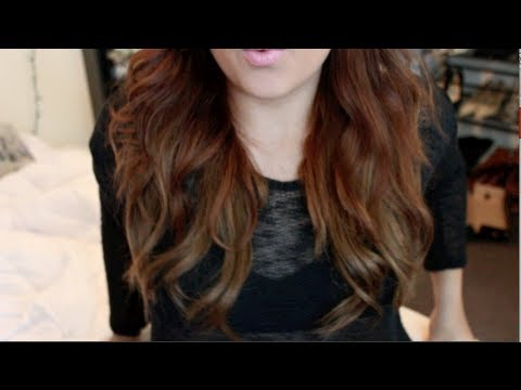 Black to Light Brown Hair Without Bleach (L'Oreal HiColor HiLights - Ash Blonde)
