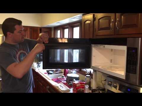 Broken Samsung Microwave Oven Door Handle How to Repair and Fix