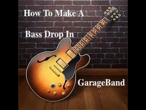 How To Make An Intense Bass Drop In GarageBand