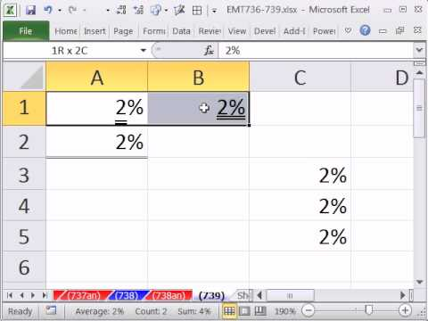 Excel Magic Trick 739: Three Ways To Do Double Underline in Excel