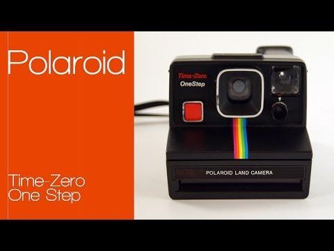 Polaroid One Step Time Zero - Black Rainbow (SX-70)