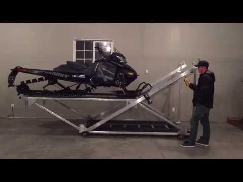 Snowmobile, ATV Storage Lift
