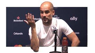 Man Utd 2-0 Man City - Pep Guardiola Post Match Press Conference - Manchester Derby - Utd Tour 2017