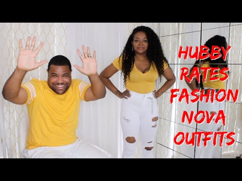 HUBBY RATES OVER  $500 FASHION NOVA TRY ON HAUL