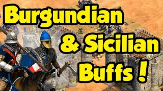 The upcoming changes to Burgundians and Sicilians
