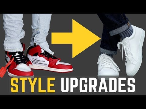 5 Style UPGRADES TO Look Better than Your Friends