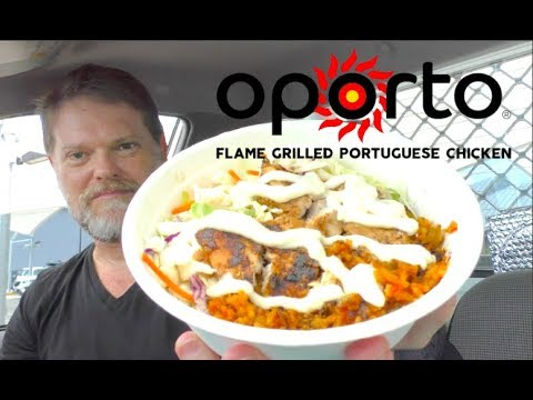 Oporto's Taça Food Review - Let's check out this $10 Salad - Greg's Kitchen
