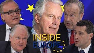 """We WILL make Brexit happen"" - Brexiteer showdown with Barnier"