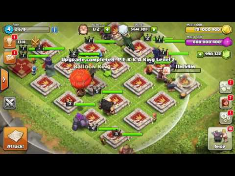 ALL HEROES vs INSANE BASE | Clash Of Clans | SPECIAL TOWERS Download |2017