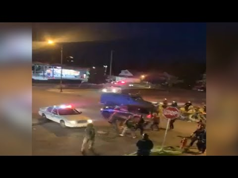 2 officers hit by vehicle in Buffalo, NY during protests