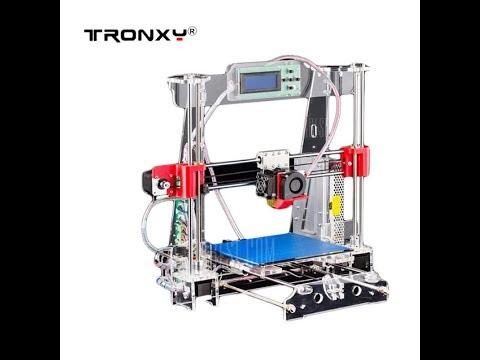 My First 3d Printer...Tronxy Acrylic P802   MTS 3D Printer Kit Unboxing .