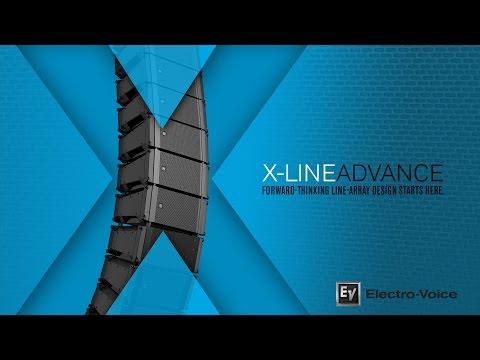 X-Line Advance Compact Vertical Line-Array Loudspeaker Systems