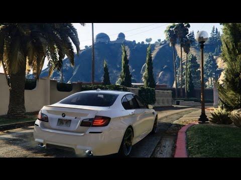 GTA 5 | BMW M5 ( F10 ) 2012 | FAST DRIVE GTA V | 60 FPS