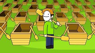 Minecraft Manhunt Animated: THE MOVIE