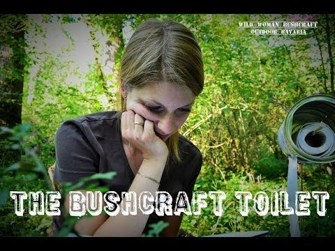 The ultimately bushcraft toilet - Wild Woman Bushcraft - My Forestcamp