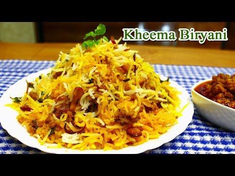 Delicious Kheema Biryani | Spicy Mutton Kheema Biryani | MadhurasRecipe | Ep - 645