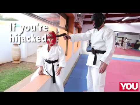 A robber got more than he bargained for when he tried to attack this karate teacher!