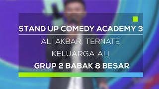 Stand Up Comedy Academy 3 : Ali Akbar, Ternate - Keluarga Ali