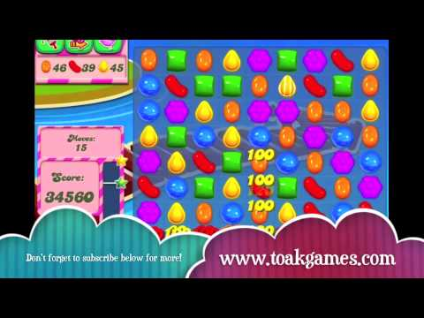 Candy Crush Saga - HOW TO DO Level 140