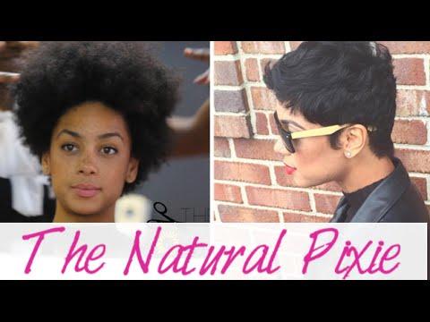 Creating the Natural Hair Pixie Cut