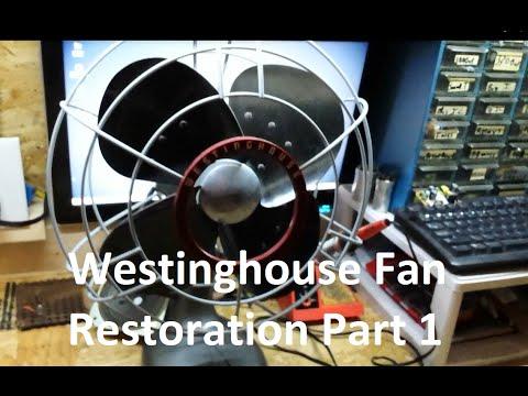 Vintage Westinghouse Power Aire Fan Restoration Part 1