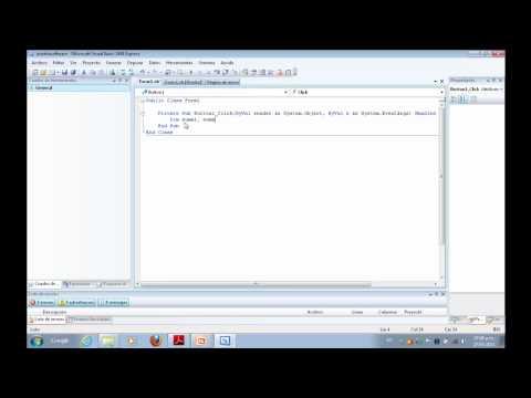Tutorial sobre como Crear un Programa con Visual Basic