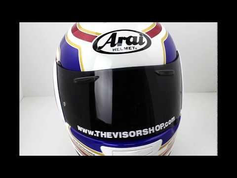 Arai Axces III Matrix Red Motorcycle Helmet