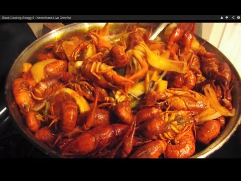 Black Cooking Swagg 5 : Neworleans Live Crawfish
