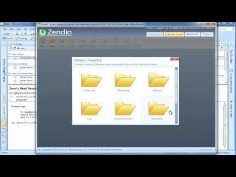 Zendio Tutorial | Outlook Read Tracking / Receipt Software