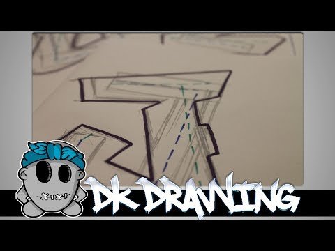 Graffiti Tutorial for beginners - Simple Letters #1