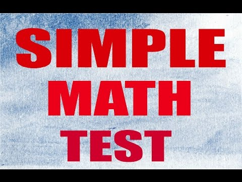 iq test questions and answer - simple math test 99% fail