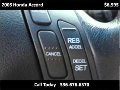 2005 Honda Accord Used Cars Greensboro NC