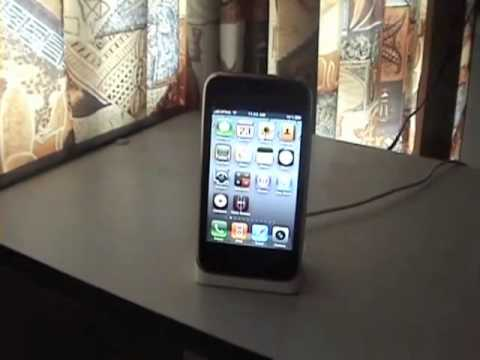 how to change language on iphone 3G