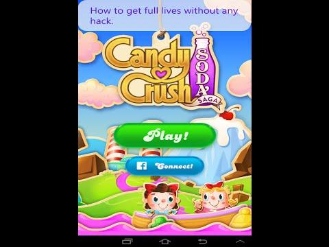 Cheate candy crush soda saga - get full lives unlimited 100% working.