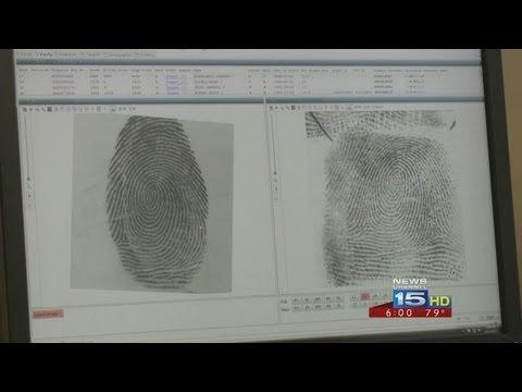 Fingerprints help police nab burglary suspect