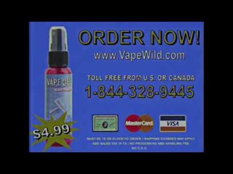 Vape Residue Window Cleaner - Vape OFF