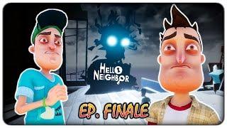 SCONTRO FINALE CON L'UOMO OMBRA (finale - gioco completo) | Hello Neighbor [ITA]